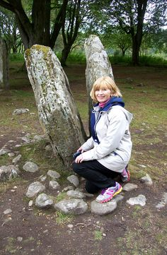 Author #JulietRosetti talks about things haunted and spooky for #Halloween.  While in Scotland, I visited the ancient standing stone circle and the cleft rock at Clava Cairns that inspired Outlander's time travel gateway. Sadly, the stones didn't hurl me back 200 years and I didn't wind up in hunky Jamie's arms.   My favorite paranormal romance book:  Does time-travel count as paranormal? If so, my all-time favorite romantic paranormal story is Diane Gabaldon's Outlander.
