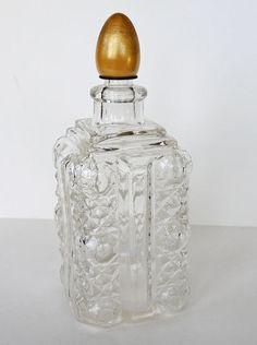 Vintage Cut Glass Vanity Bottle $9.95