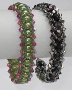 Flat Spiral Bracelet by Jann Christiansen aka Dancing Sea Designs