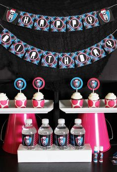 Monster High party theme | Life's Little CelebrationsLife's Little Celebrations