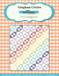 Cotton Gingham Free Quilt Pattern!  Love this!