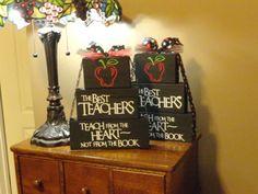 Teacher gifts @Sarah Desjardins