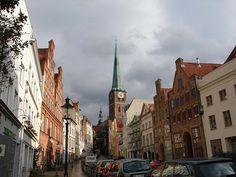 Englesgrube, Lubeck, Germany by Da Hammer, via Flickr