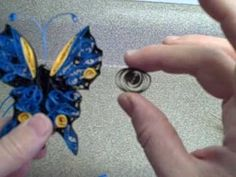 QUILLED BUTTERFLY video