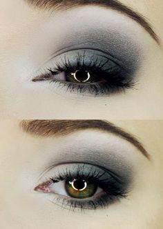 gray and pewter--this would make my hazel eyes look soo good!!