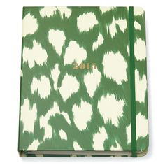 Kate Spade 2015 Painterly Cheetah Ikat Large Agenda