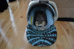Crochet Car Seat Cover/Car Seat Blanket by DevoirBoutique on Etsy, $32.00