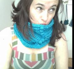 One of my favorite crochet cowls