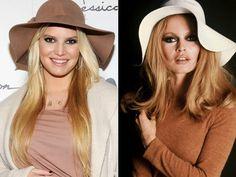 Jessica Simpson/Brigitte Bardot - style inspiration. #jessicasimpson #ivillage
