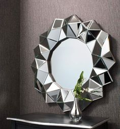 Treatment Room mirror  alexander multi facet wall mirror
