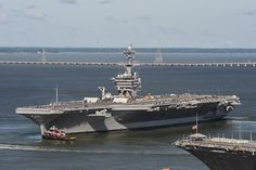 USS Theodore Roosevelt (CVN 71) departed Newport News Shipbuilding for sea trials on Sunday, Aug. 25 after undergoing Refueling Complex Overhaul (RCOH). She's one step closer to rejoining the fleet!