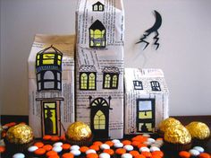 halloween decorations, house crafts, haunt hous, haunted houses, halloween crafts