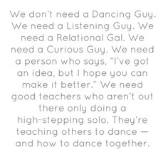 "This is from a critique I've written about the popular ""Dancing Guy"" TED Talk http://smartblogs.com/education/2012/07/20/the-dancing-guy-talk-doesnt-teach-good-leadership-lessons/"