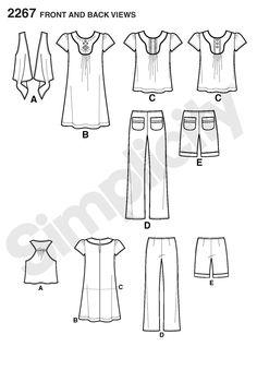 Simplicity Pattern 2267