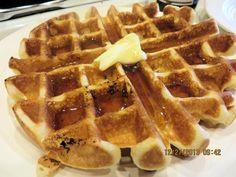 Belgian Waffle Recipe on Pinterest