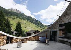 Switzerland-secret underground home design