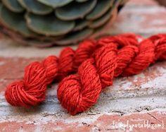Spinning Silk Hankie into Yarn DIY