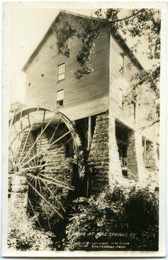mill Springs Wayne County  Kentucky