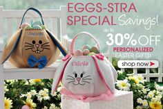 PersonalizationMall is having a sale on all of their Easter Baskets and Easter Gifts! #Easter