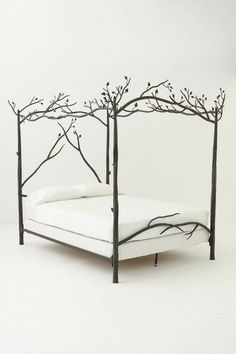 Modern-day Winterfell bed