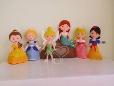 felt princesses