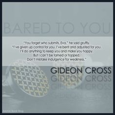 BARED TO YOU - SYLVIA DAY #crossfire