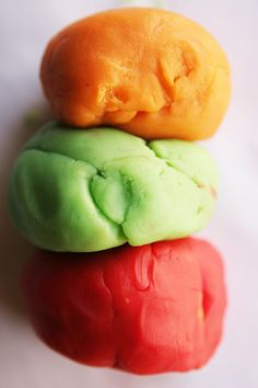 Jello Playdough recipe