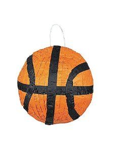 BASKETBALL PINATA by UNIQUE INDUSTRIES. $30.86. Score one for the home team with our Basketball Pinata! Fill this sports pinata with candy and favors for your basketball party. For an easy way to enjoy your pinata, try using our pull-string pinata conversion kit.