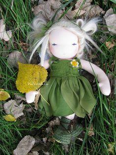 Tinker bell Waldorf doll handmade by FeeVertelaine