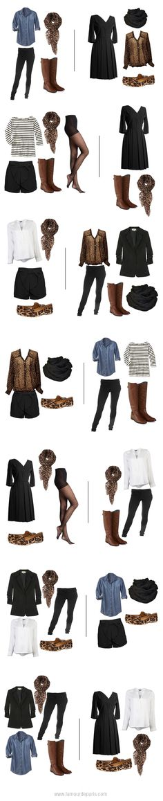 week worth, italy outfit, travel wardrobe, travel tips, animal prints, brown boots, leopard prints, european travel outfit, suitcas