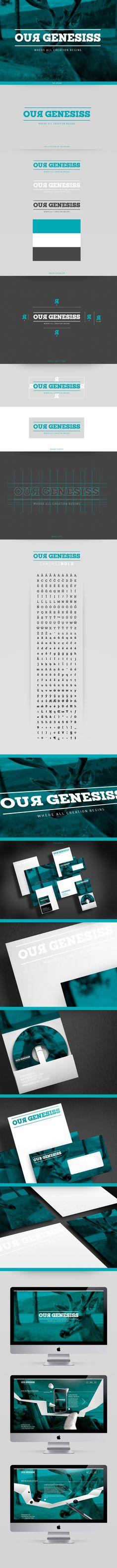 OUR GENESISS by João Alberto, via Behance