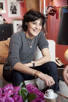 Ines de la Fressange (b. 1957). Even Chanel models have dress down days!