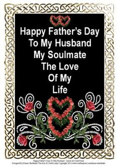 Happy fathers day to my