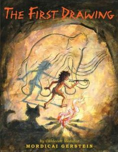 JJ STORIES GER. Thirty thousand years ago, an imaginative child sees the shapes of animals in clouds and on the walls of the cave he shares with his family, but no one else can see them until he makes the world's first drawing. Includes author's note on cave drawings.