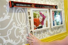 Secrets to hanging a perfect grid of photos!!