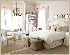 beautiful neutral bedroom #home #decor