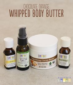Indulge in this delightfully sweet and aromatic homemade whipped body butter.