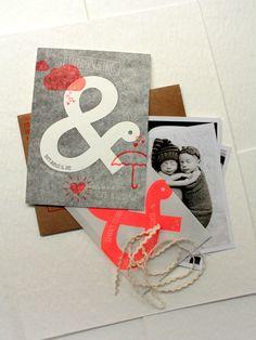 Print In Cursive: Twin Birth Announcements