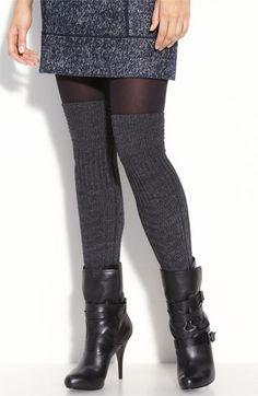 I love over the knee socks.