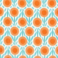 Michelle Engel Bencsko, House & Garden, Flower Bed Blue