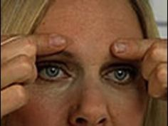 Reduce/Prevent forehead wrinkles with face yoga.