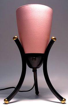 1950's Pink Eames Bullet Lamp
