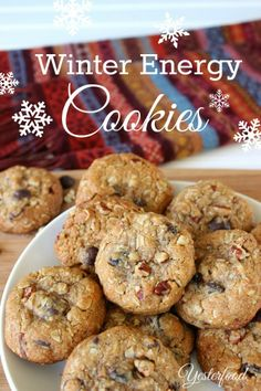 Yesterfood : Winter Energy Cookies