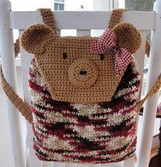 ao with <3 / Teddy bear backpack