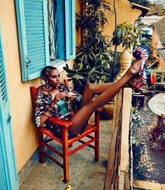 Ana Bela Santos Elle Brasil 2013