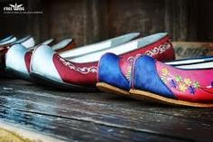Korean tradtional shoes called Bidansin. | Hanbok, the Gorgeous! | Pi ...