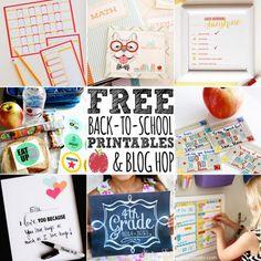 Free Printables Back to School Blog Hop! LivingLocurto.com