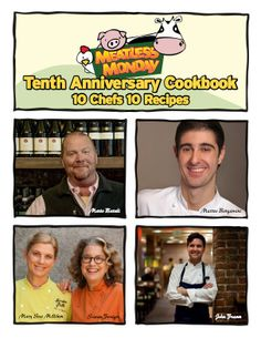 10 Years, 10 Chefs: Celebrate #MeatlessMonday's Anniversary by downloading our free e-cookbook!
