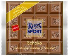 RITTER SPORT Fake Schokolade Schoko