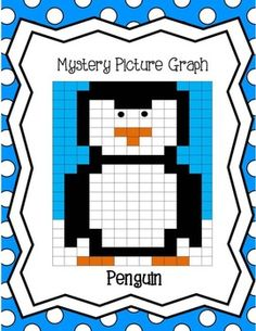 Free Mystery Picture Graph - Penguin